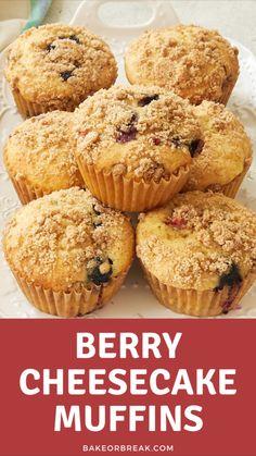 Muffin Recipes, Cupcake Recipes, Baking Recipes, Cupcake Cakes, Dessert Recipes, Profiteroles, Ice Cream Desserts, Fall Desserts, Yummy Treats