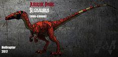 Jurassic Park: Segisaurus (new art !) by Hellraptor on DeviantArt