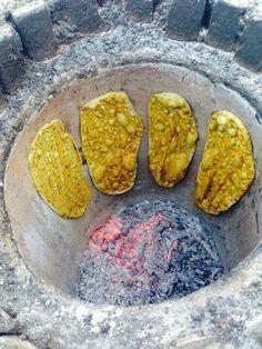 Iran - pane tradizionale Noon tanori