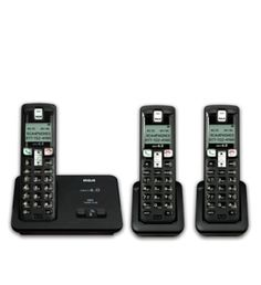 RCA-2101-3BKGA DECT 6.0 Expandable Digital Cordless Phone With Caller ID #RCA