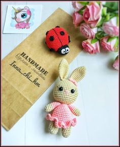 Tiny Bunny in Skirt (Free Pattern) – Amigurumi Free Patterns And Tutorials : . Tiny Bunny in Skirt (Free Pattern) – Amigurumi Free Patterns And Tutorials : … Tiny Bunny in S Amigurumi Doll Pattern, Crochet Amigurumi Free Patterns, Free Crochet, Crochet Teddy, Easter Crochet, Crochet Dolls, Crochet Rabbit Free Pattern, Dou Dou, Tiny Bunny