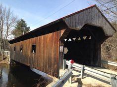 Covered bridge in Warner, NH