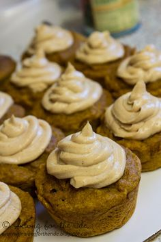 Along for the ride...: Pumpkin Pupcakes.  I'm going to make them with sweet potatoes for Tater's birthday!