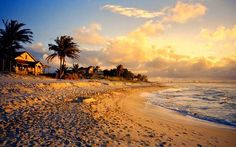 A great spot to take in the last golden rays of the setting sun at Varadero Beach in Cuba. Matanzas Cuba, Varadero Cuba, Vinales, Beautiful Islands, Beautiful Beaches, Resorts, Places To Travel, Places To See, Planet Pictures
