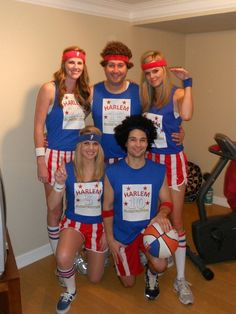 Coolest Harlem Globetrotters Group Costume - Going to run with my J-Team Runners at a costume race in Oct.