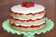 """Képtalálat a következőre: """"strawberry vanilla cake"""""""