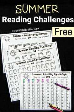 Beat the summer heat-reading challenge