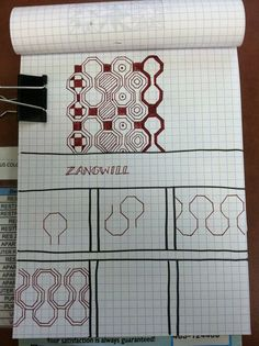 Zangwill steps zentangle