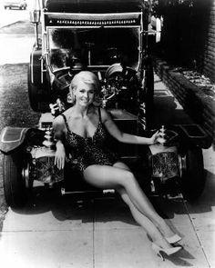 The Munsters' cars were created by George Barris.