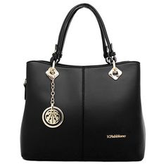 Fashion Women's Tote Bag With PU Leather and Pendant Design