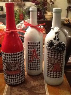 Alabama Wine Bottle Creations!