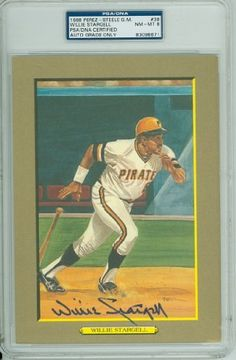 Willie Stargell AUTO d.01 Perez-Steele Greatest Moments Pirates PSA 8 by Perez-Steele. $55.00. This vintage Perez-Steele Greatest Moments card was signed by Willie Stargell and authenticated by PSA - a leading 3rd party authenticator