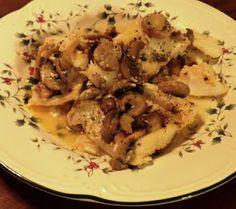 Pam's Midwest Kitchen Korner: Orange Roughy in Garlic Butter Sauce