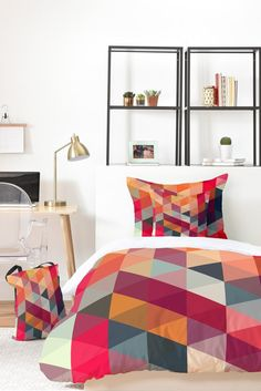 Three Of The Possessed Modele 4 Bed In A Bag | Deny Designs Home Accessories