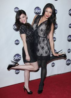 Celebs party at the ABC Disney Winter Press Tour