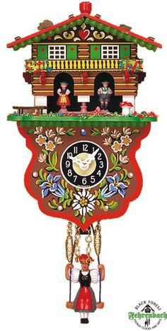 Cuckoo Clock Black Forest Germany Something From My