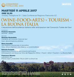 Come ogni anno il Consorzio Tutela del Gavi sarà a Vinitaly.  Ci trovate al PAD 10 STAND G3-2 dal 9 al 12 aprile.  Vi aspettiamo l'11, ore 12,30 pad 10, presso la Sala Conferenze Regione Piemonte G2 per la conferenza (WINE+FOOD+ARTS) X TOURISM = LA BUONA ITALIA  #vinitaly2017 #labuonaitalia #happygavi