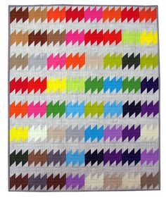 The Rainbow Ripple Quilt Pattern (pdf file)