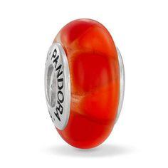 Pandora Xmas(Christmas) 2013 Red Hot Captivating Murano Glass Charm 790639 Clearance Deals