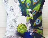 Zeryndipity line of throw pillows by Eryn J. Carlisle, available on Etsy & at Artemis in Spokane