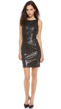 7f6925c4bc5b8 alice + olivia Aviana Sequin Fitted Dress New Years Eve Dresses