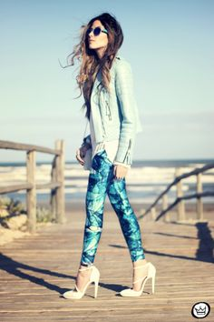 FashionC.oolture - 16.08.2013 look du jour LovelySally legging Boda Skins (1)