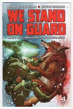 We Stand On Guard #4 Regular Steve Skroce Cover (2015)