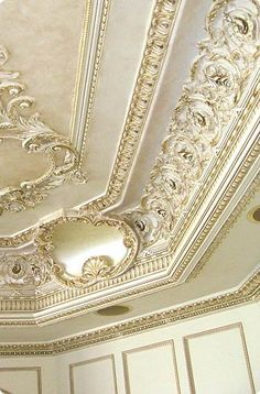 J P Weaver crown and ceiling designed by Stephanie Croce