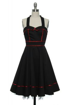 Betty Page Parade Dress | Vintage, Retro, Indie Style Dresses  http://www.laceaffair.com/betty-page-parade-dress/