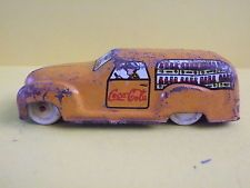 "COCA-COLA TIN DELIVERY VAN. VERY EARLY ""MODELE DEPOSE"" ITALY. RARE"