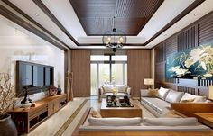 3D-interior-wood-ceilings-and-walls-Chinese-style.jpg (1161×745)