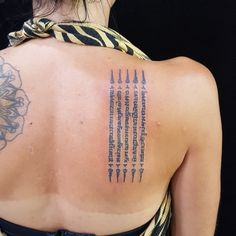 d85e61a73e4cb Tattoo by traditional Thai bamboo style สักยันต์ไทยโดยอาจารย์สักยันต์ - - -  - For bookings please email: peang@bangkok-ink.com Or visit our shop in ...