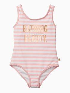 aa0ddbad6cf1 Kate Spade Girls  Bathing Beauty One-piece Swimsuit