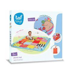 Taf Toys Speelkleed voor buiten Kooky Picnic mat