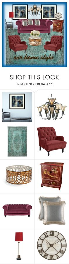 """""""Home style(SVR style)"""" by svrrvs ❤ liked on Polyvore featuring interior, interiors, interior design, home, home decor, interior decorating, Amanti Art, Pier 1 Imports, Frontgate and J. Queen New York"""