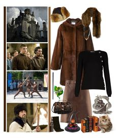 """""""Durmstrang"""" by fashionqueen76 ❤ liked on Polyvore featuring Macmillan, Yves Salomon, Marni, H&M, Altuzarra, Chloé and River Island"""
