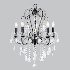Whimsical Chandelier by Jubilee