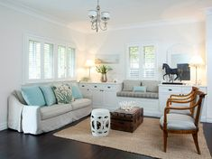 coastal living room | Porchlight Interiors