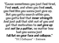 Eminem motivation!