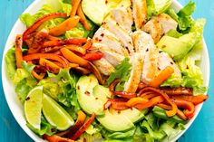 Fajita Chicken Salad  - Delish.com
