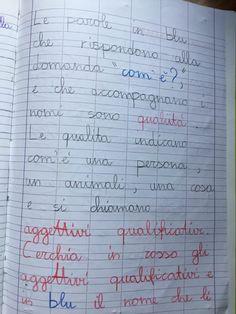 Quaderno di italiano classe 2^ La fiaba Bullet Journal, 3, Education, Blog, Alphabet, Blogging, Onderwijs, Learning