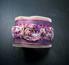 One of my last cuff bracelets ...