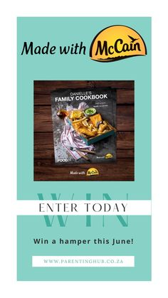This June you could win a McCain Family Hamper! Enter today!