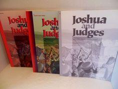A Beka Book LOT Joshua Tests Quizzes Teacher Key Grade 8 Christian Homeschooling