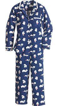 Womens Lanz of Salzburg Puppy Love Pajamas