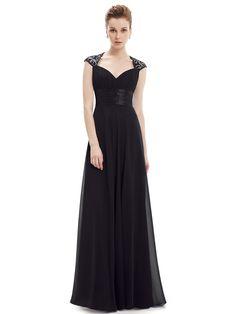 Black V-neck Sequined Cut Out Back Ruched Maxi Dress