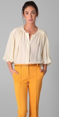 Sold Out - shopbop.com Jeunesse Francoise Blouse - EVERYSTORE