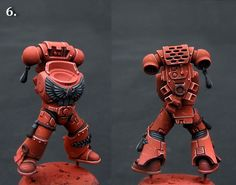 How to: Blood Angels Armour