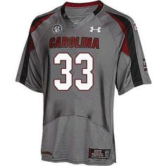 86cc645c3 Men  33 Zay Brown South Carolina Gamecocks College Football Jerseys  Sale-Gray Jones College