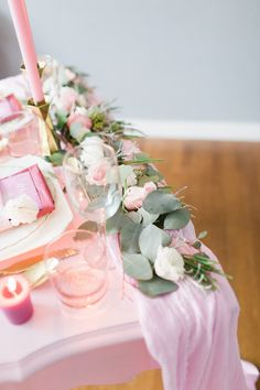 Pretty in Pink Wedding Inspiration, Harmony Lynn Photography, Julie Miner Events